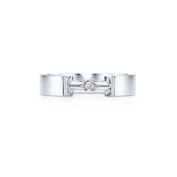 Trang sức Tiffany & Co. T True Kim cương Link Nhẫn