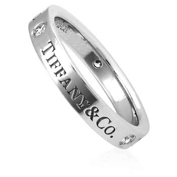 Trang sức Tiffany & Co. Unisex Tiffany & Co. Band Platinum Nhẫn chính hãng sale giá rẻ Hà nội TPHCM