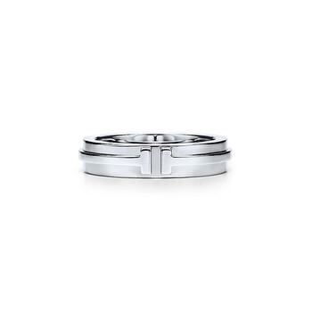 Trang sức Tiffany & Co. Vàng trắng Nhẫn (Size:10) chính hãng sale giá rẻ Hà nội TPHCM