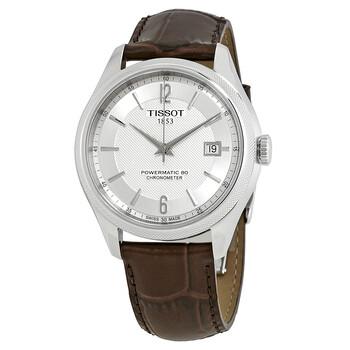 Đồng hồ Tissot Ballade Automatic Chronometer mặt số màu bạc nam T108.408.16.037.00 chính hãng sale giảm giá rẻ nhất ở tại Hà nội TPHCM