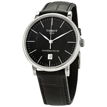 Đồng hồ Tissot Carson Automatic mặt số màu đen nam T122.407.16.051.00 chính hãng sale giảm giá rẻ nhất ở tại Hà nội TPHCM