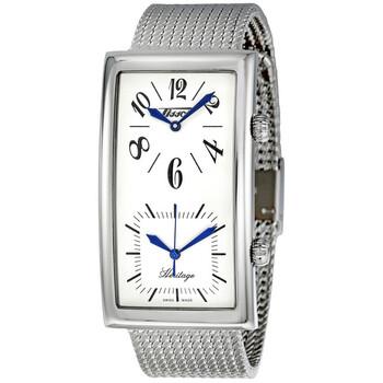 Đồng hồ Tissot Heritage White Dual Time Dial nam T56.1.683.79 chính hãng sale giảm giá rẻ nhất ở tại Hà nội TPHCM