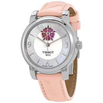 Đồng hồ Tissot Lady Heart Flower Automatic mặt số màu ngọc trai nữ T050.207.16.117.00 chính hãng sale giảm giá rẻ nhất ở tại Hà nội TPHCM