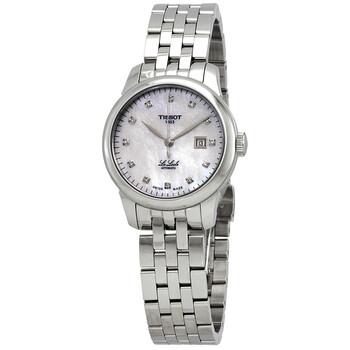 Đồng hồ Tissot Le Locle ngọc trai Diamond Dial Automatic nữ T006.207.11.116.00 chính hãng sale giảm giá rẻ nhất ở tại Hà nội TPHCM