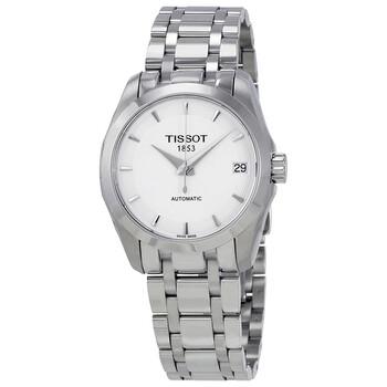 Đồng hồ Tissot Couturier Automatic mặt số màu bạc nữ T035.207.11.011.00 chính hãng sale giảm giá rẻ nhất ở tại Hà nội TPHCM