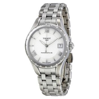Đồng hồ Tissot Lady 80 Automatic mặt số màu ngọc trai nữ T0722071111800 chính hãng sale giá rẻ nhất ở tại Hà nội TPHCM