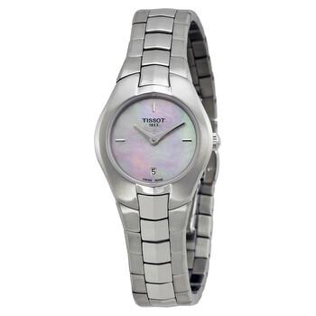 Đồng hồ Tissot T-Round Pink mặt số màu ngọc trai nữ T0960091115100 chính hãng sale giảm giá rẻ nhất ở tại Hà nội TPHCM