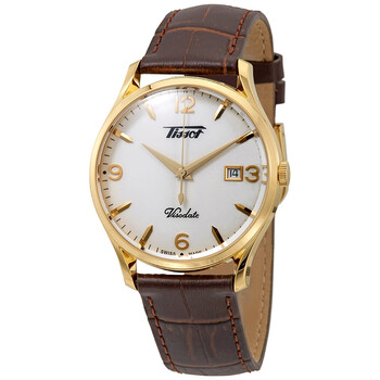 Đồng hồ Tissot Heritage Visodate Quartz mặt số màu bạc nam T118.410.36.277.00 chính hãng sale giảm giá rẻ nhất ở tại Hà nội TPHCM