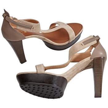 Giày Tod's nữ Shoes in Dark Natural / Clay chính hãng sale giá rẻ
