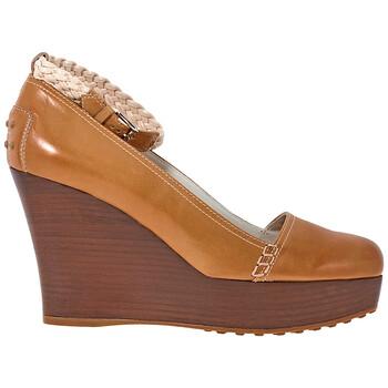 Giày Tod's nữ Wedge in Kenia / Light Nude chính hãng