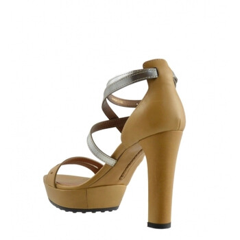 Giày Tod's nữ Leather Sandals in Kenia / String chính hãng
