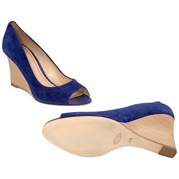 Giày Tod's nữ Wedge in Bluette chính hãng sale giá rẻ