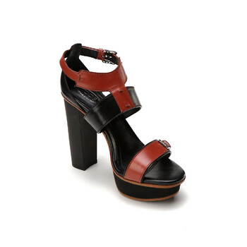 Giày Tod's nữ Leather High Heels in Cotto / màu đen chính hãng sale giá rẻ