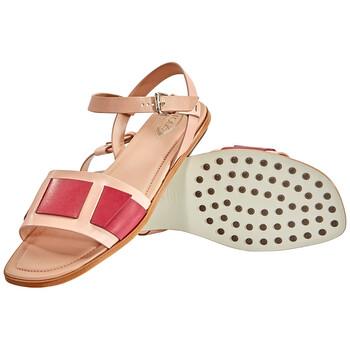 Giày Tod's nữ Sandals in Powder / Medium màu đỏ chính hãng