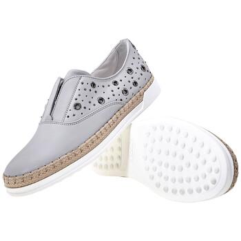 Giày Tod's nữ Slip-On Shoes in Medium Cement chính hãng