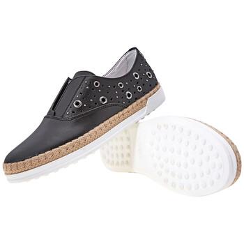 Giày Tod's nữ Slip-On Shoes màu đen chính hãng sale giá rẻ