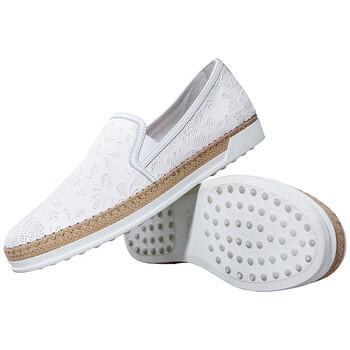 Giày Tod's nữ Slip-On Shoes màu trắng chính hãng