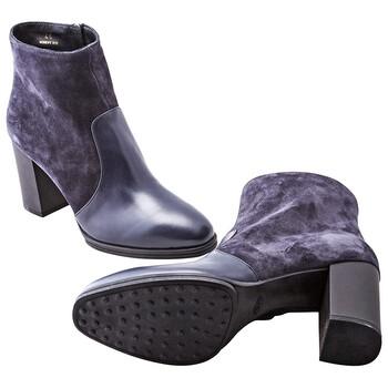 Giày Tod's nữ Ankle Boots in Dark Galaxy chính hãng