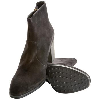 Giày Tod's nữ Ankle Boots màu đen chính hãng