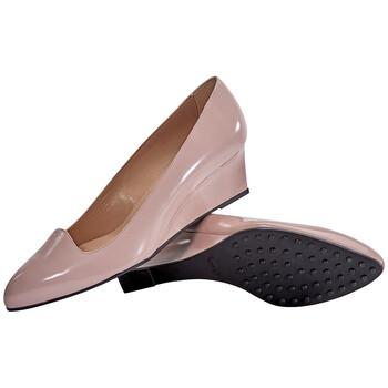 Giày Tod's nữ Suede Wedge in Dark Powder chính hãng sale giá rẻ