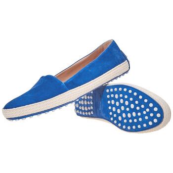 Giày Tod's nữ Slip-on Sneakers in Gentian chính hãng