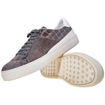 Giày Tod's nữ Color Block Sneakers màu đen / màu trắng chính hãng sale giá rẻ