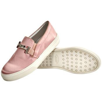 Giày Tod's nữ Slip-on Sneakers màu hồng / Angel chính hãng
