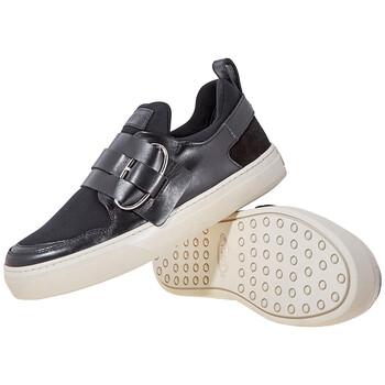 Giày Tod's nữ Slip-on Sneakers màu đen chính hãng sale giá rẻ