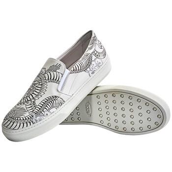 Giày Tod's nữ Slip-on Loafers màu trắng chính hãng