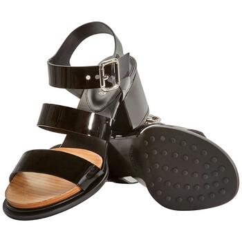 Giày Tod's nữ Sandals màu đen chính hãng