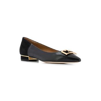Giày Tory Burch màu đen Gigi 20 màu đen Ballet Flats chính hãng sale giá rẻ