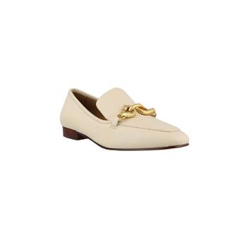 Giày Tory Burch Jessa màu trắng Loafers chính hãng