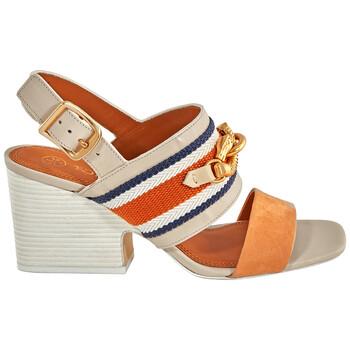 Giày Tory Burch nữ Jessa Block 75 mm Heel Sandals chính hãng