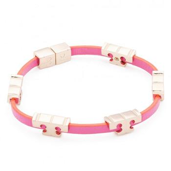 Trang sức Tory Burch Multicolor Serif-T Single Wrap Vòng đeo tay chính hãng sale giá rẻ Hà nội TPHCM