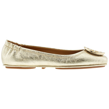 Giày Tory Burch Minnie Metallic Leather Folding Flats chính hãng