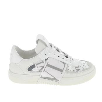 Giày Valentino Garavani màu trắng Leather VL7N Logo Sneakers chính hãng
