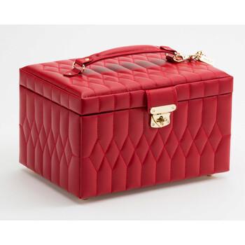 Trang sức Wolf Caroline Medium Red Jewelry Case 329772 chính hãng sale giá rẻ Hà nội TPHCM