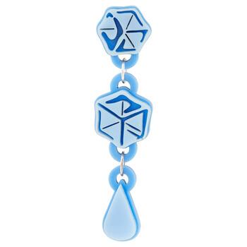 Trang sức Yazbukey Nữ Blue Melting Icecubes Bông tai (khuyên tai