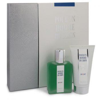 Nước hoa Caron Pour Homme Sport Bộ quà tặng 75ml Eau De Toilette EDT + 75ml Shower Gel nam