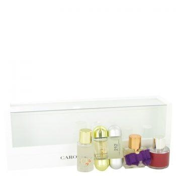 Nước hoa Ch Carolina Herrera Bộ quà tặng Mini Set includes 212