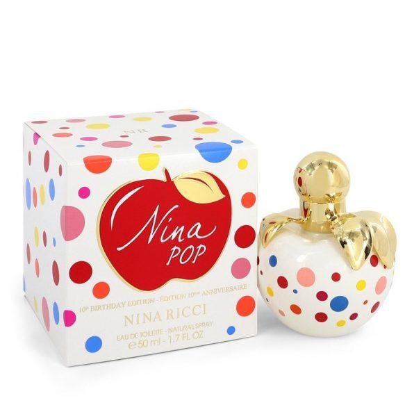 Nước hoa Nina Pop Eau De Toilette EDT 10th Birthday Edition 50ml nữ