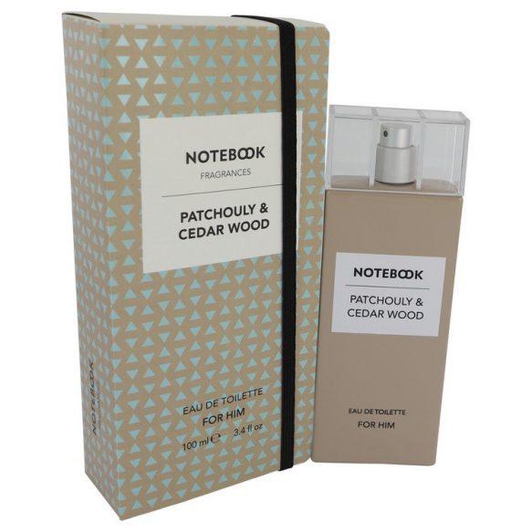 Nước hoa Notebook Patchouly & Cedar Wood Eau De Toilette EDT 100ml nam