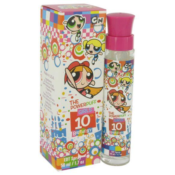 Nước hoa Powerpuff Girls 10Th Birthday Eau De Toilette EDT 50ml nữ