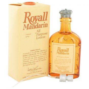 Nước hoa Royall Mandarin All Purpose Lotion Cologne 120ml nam