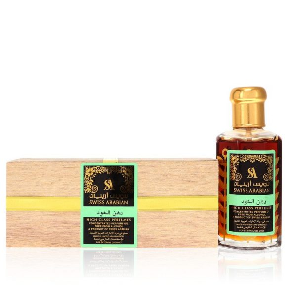 Nước hoa Swiss Arabian Sandalia Ultra Concentrated Perfume Oil Không cồn Unisex Green 100ml 3