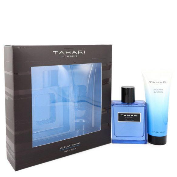 Nước hoa Tahari Aqua Wave Bộ quà tặng 100ml Eau De Toilette EDT + 100ml Shower Gel nam