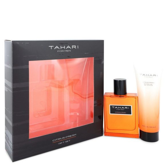 Nước hoa Tahari Citrus Fresh Bộ quà tặng 100ml Eau De Toilette EDT + 100ml Shower Gel nam