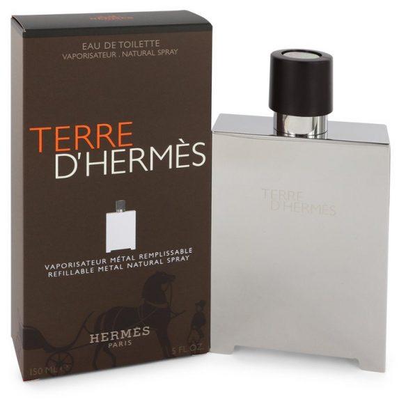 Nước hoa Terre D'Hermes Eau De Toilette EDT Refillable Metal 150ml nam