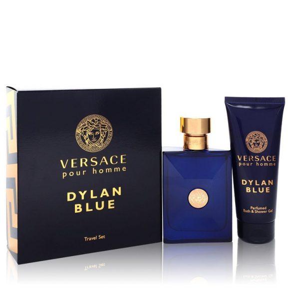 Nước hoa Versace Pour Homme Dylan Blue Bộ quà tặng 100ml Eau De Toilette EDT + 100ml Shower Gel nam
