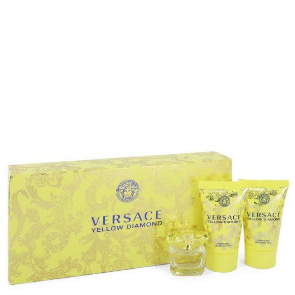 Nước hoa Versace Yellow Diamond Bộ quà tặng 5ml Mini EDP + 2